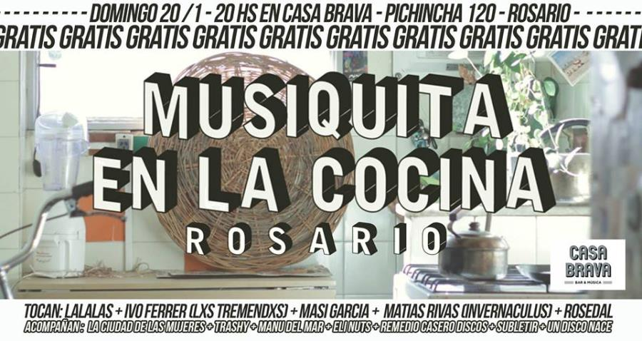 Musiquita en la cocina en Rosario