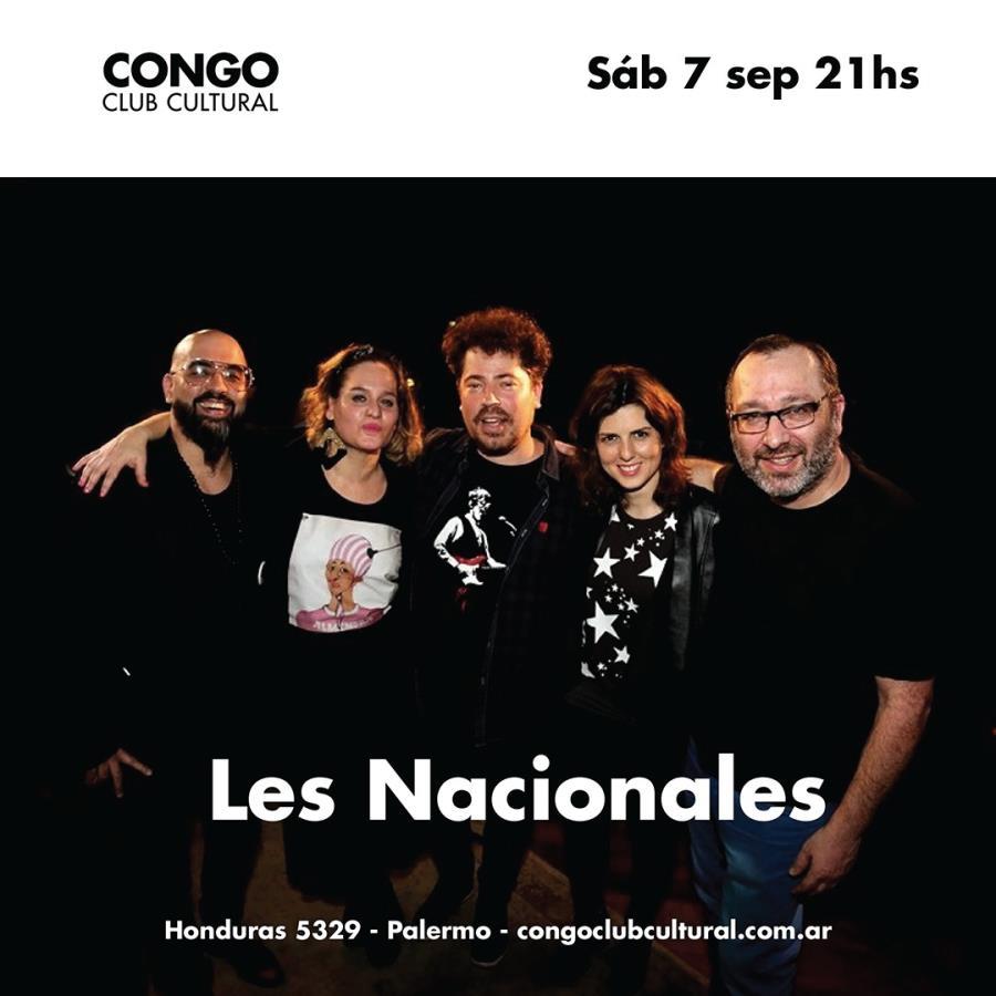 Les Nacionales en Congo Club Cultural