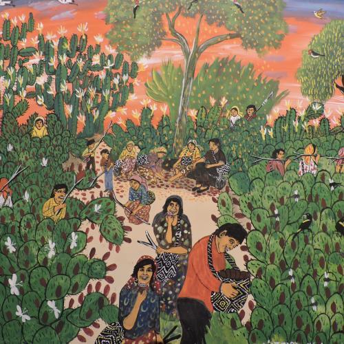 Cultura en Acción en el Taller de Arte Indígena