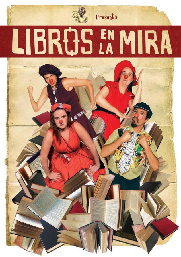 Libros en la mira - Teatro Cerca Estival