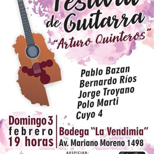 Festival de guitarra Arturo quinteros