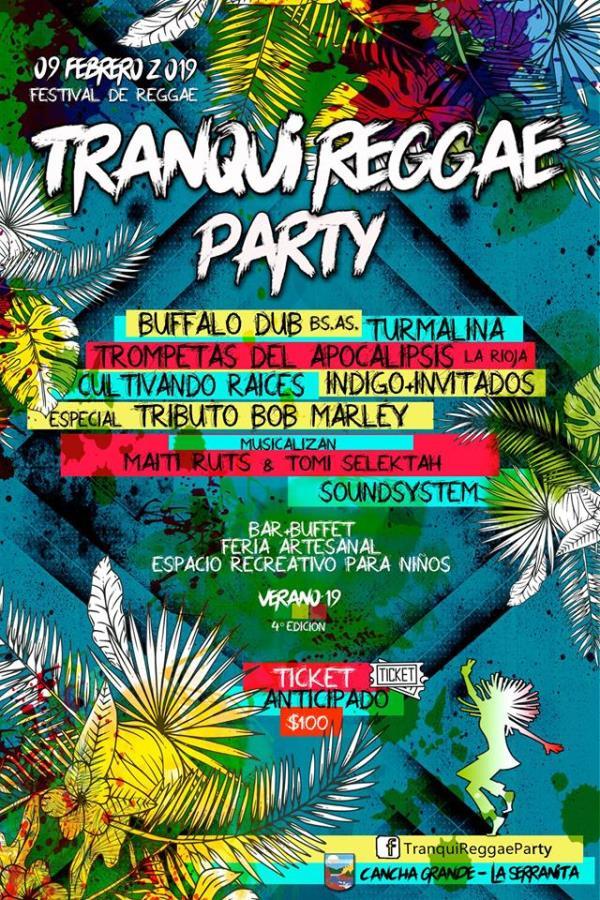 Tranqui Reggae PARTY #4