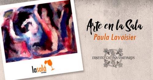 """Paula Lavoisier Expone """"Fluidez, instantes."""""""