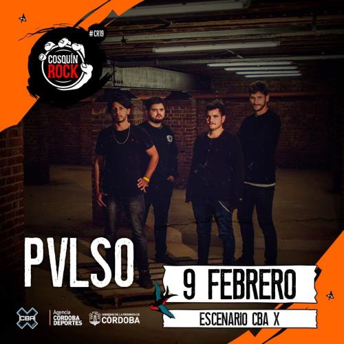 Pvlso regresa a Cosquín Rock