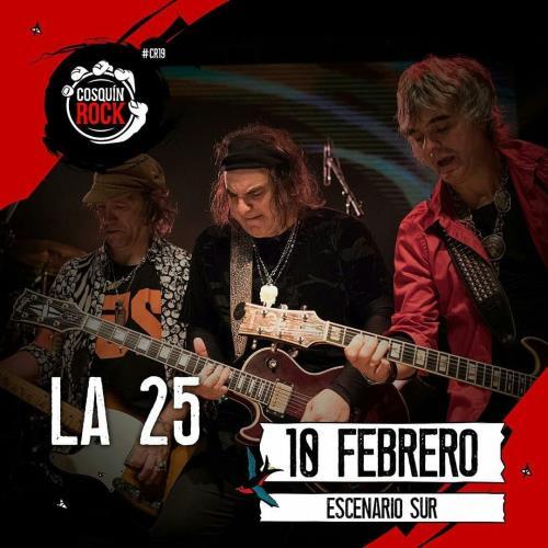 LA 25 en Cosquín Rock