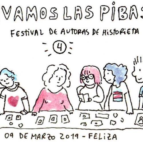 Vamos las pibas 4 festival de autoras de historieta