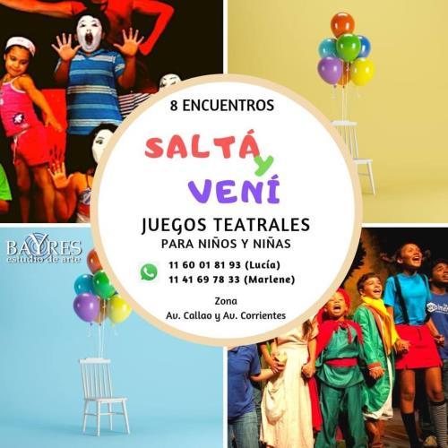 JUEGOS TEATRALES (Seminario para niños/as de 7 a 11 años)