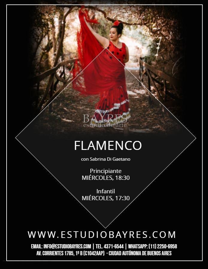 Flamenco (adolescentes y adultos)