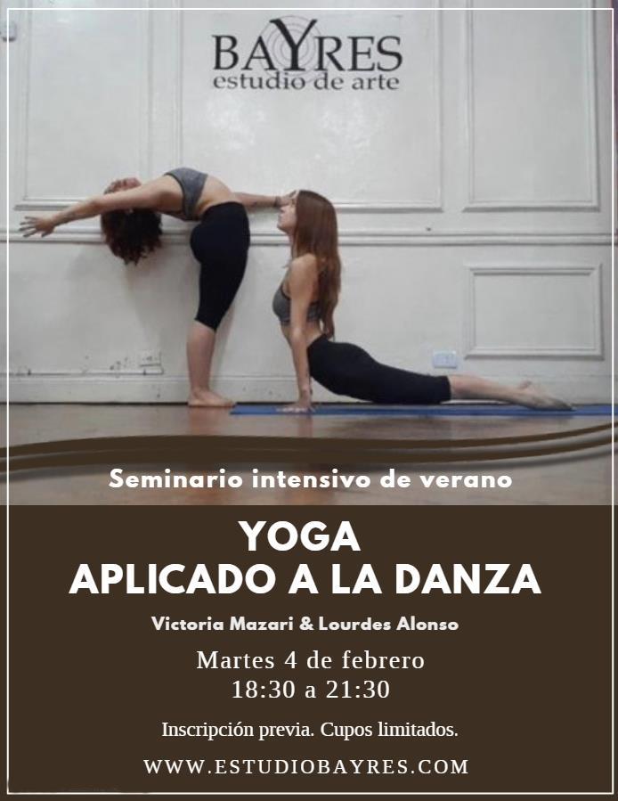 Yoga aplicado a la Danza