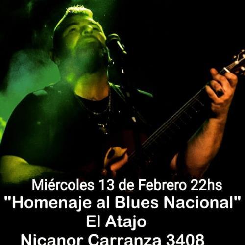 Noche de Blues con Germán Marco en El Atajo