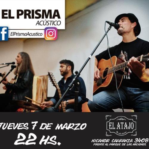 """EL TRÍO MUSICAL """"EL  PRISMA"""" EN EL ATAJO"""