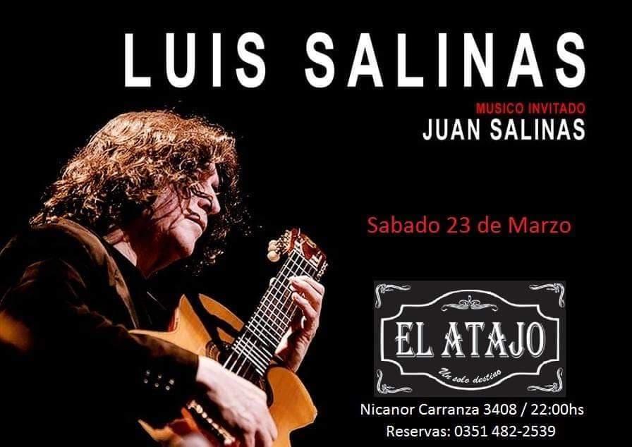 LUIS SALINAS EN EL ATAJO