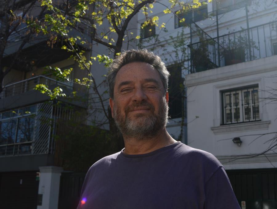 """Presentación de los libros """"El hijo judío"""" y """"Enana blanca"""" de Daniel Guebel."""