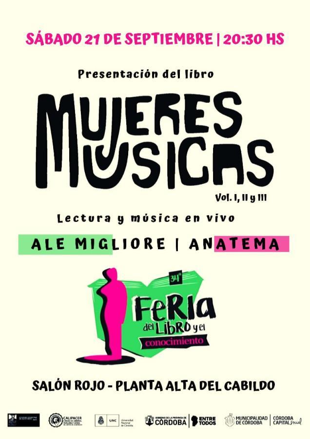 Presentamos el Libro Mujeres Músicas en la Feria del Libro