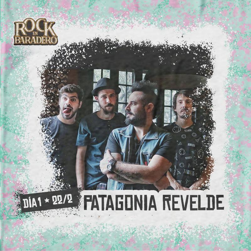 """Patagonia ReVelde por primera vez en el """"Rock en Baradero"""""""
