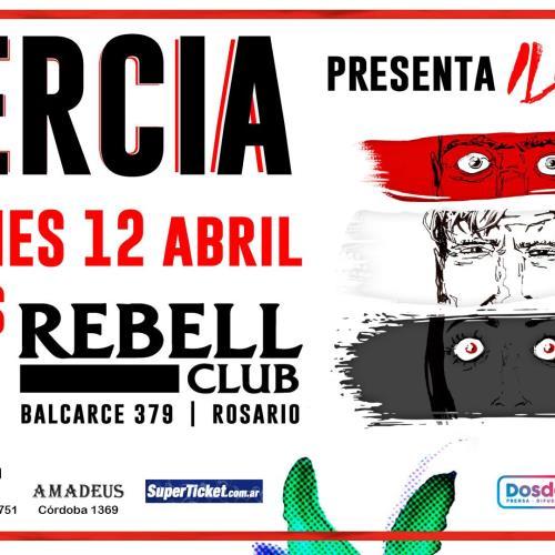 Inercia presenta Iluminar en Rosario