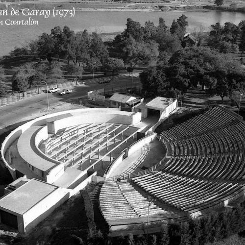 """Anfiteatro """"Juan de Garay"""" del Parque Sur"""