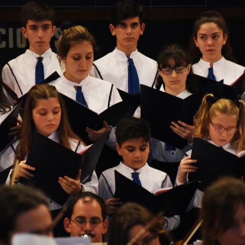El Coro Nacional de Niños conmemora el Día de la Memoria