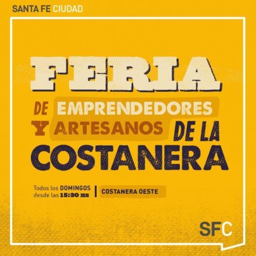 Costanera Oeste, Feria de Artesanos y Emprendedores