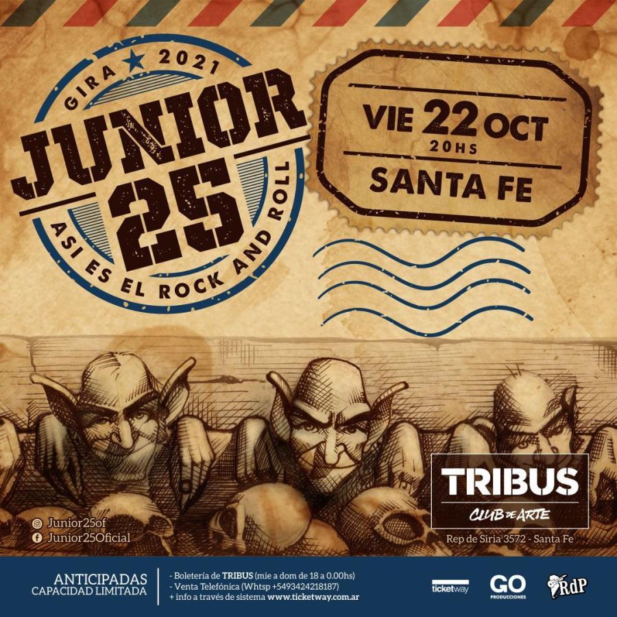 ¡Junior 25 en Santa Fe!