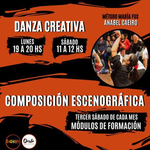 Clases y Encuentros Intensivos de Danza Creativa Método María Fux