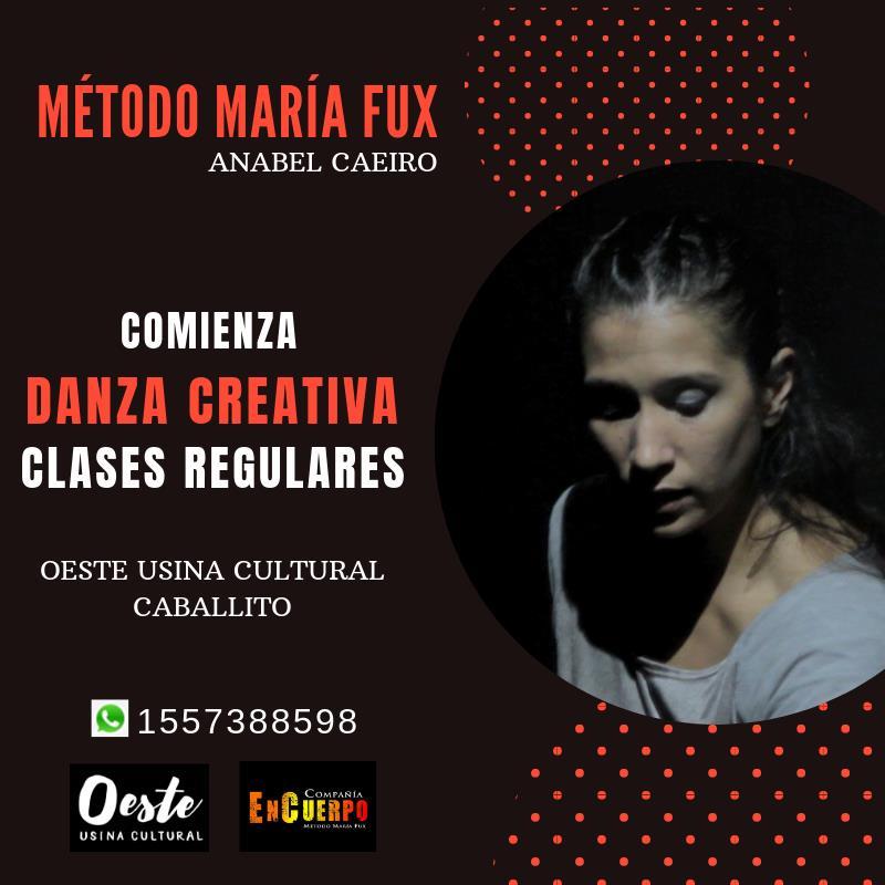 Clases de Danza Creativa Método María Fux