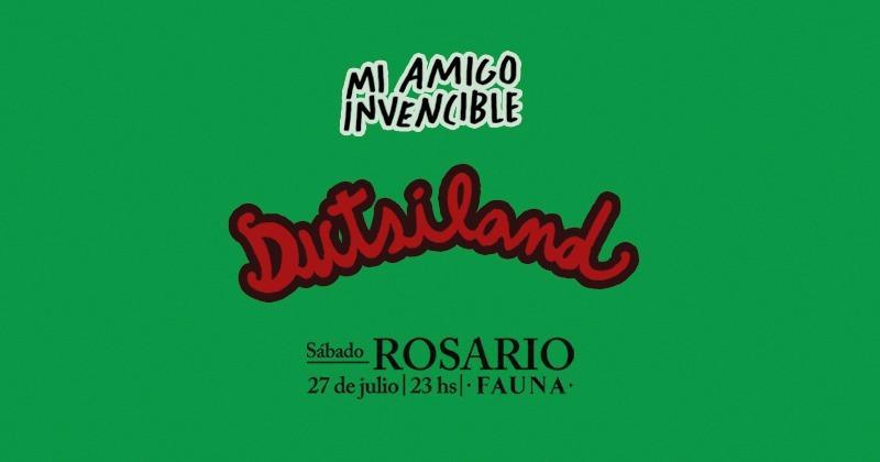 """Mi Amigo Invencible presenta """"Dutsiland"""" en Rosario"""