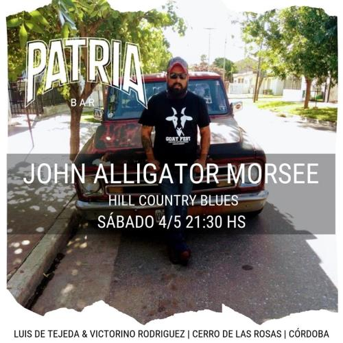 JHON ALLIGATOR MORSEE EN PATRIA BAR