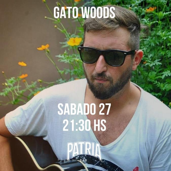 GATO WOODS EN PATRIA BAR