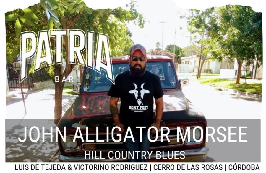 JHON ALLIGATOR MORSEE EN PATRIA BAR