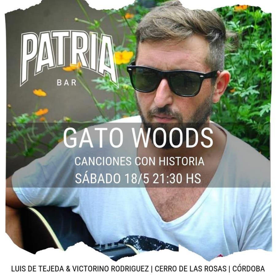 GATO WOODS EN PATRIA BAR