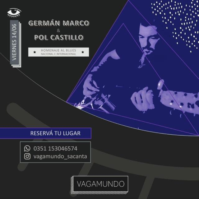 GERMÁN MARCO & POL CASTILLO EN VAGAMUNDO