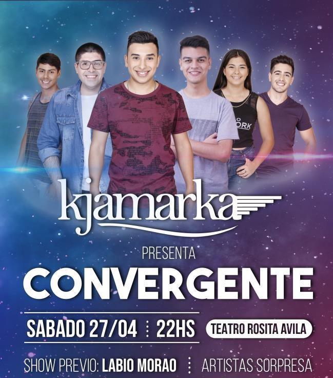 Kjamarka presenta Convergente!