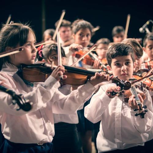 Concierto de la Orquesta Infantojuvenil El Chingolo + Tango por la Memoria (danza).