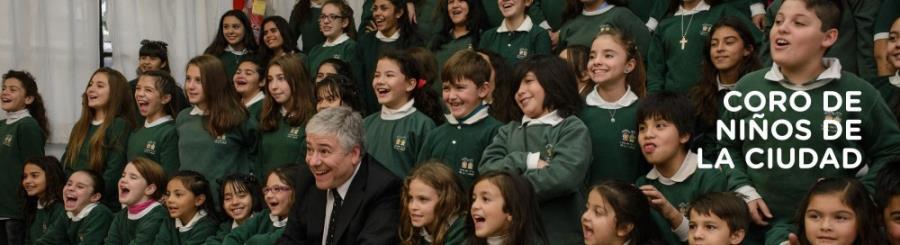 """""""La edad del asombro"""" Coro Municipal de Niños"""