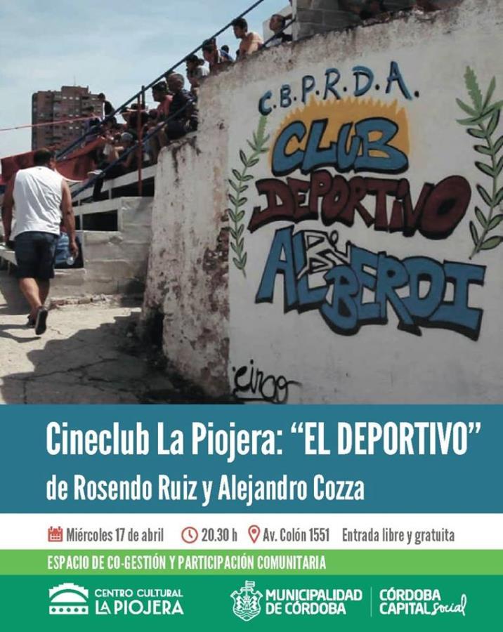 """Proyección de """"El Deportivo"""""""