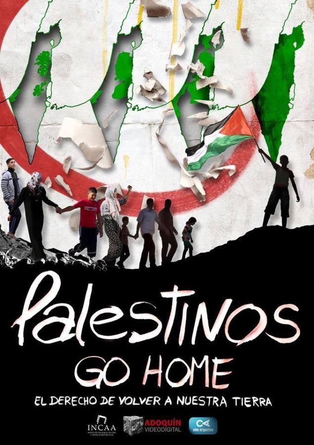 """Proyección del documental """"PALESTINOS GO HOME"""""""
