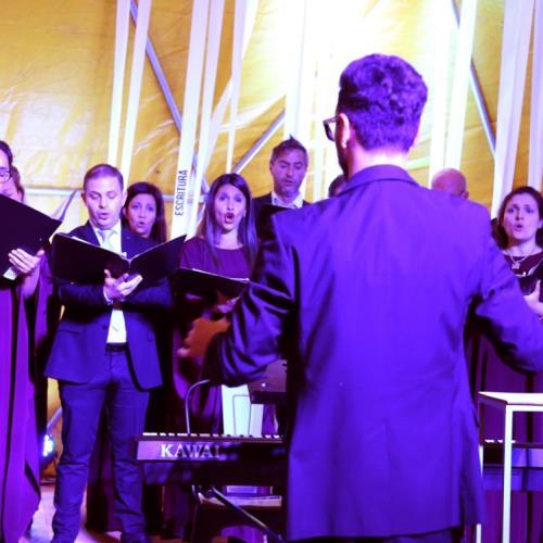 Actuación del Coro Municipal de Jóvenes