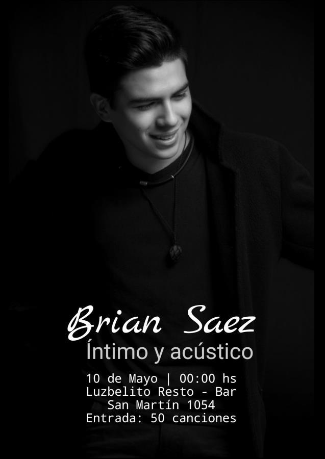 Brian Saez Íntimo y acústico