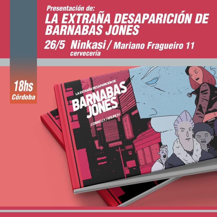 Presentación del libro La extraña desaparición de BARNABAS JONES