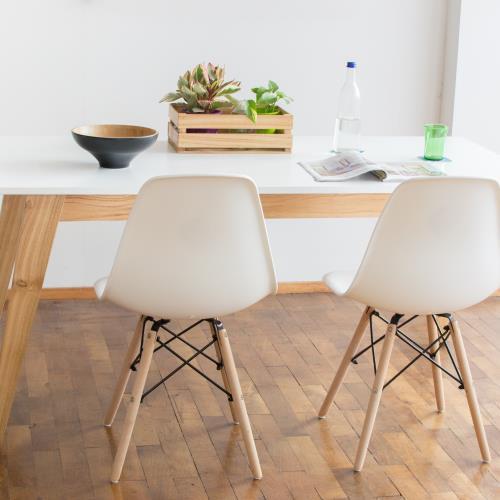 Mesa de comedor escandinava 1.20x80 / 1.30x80