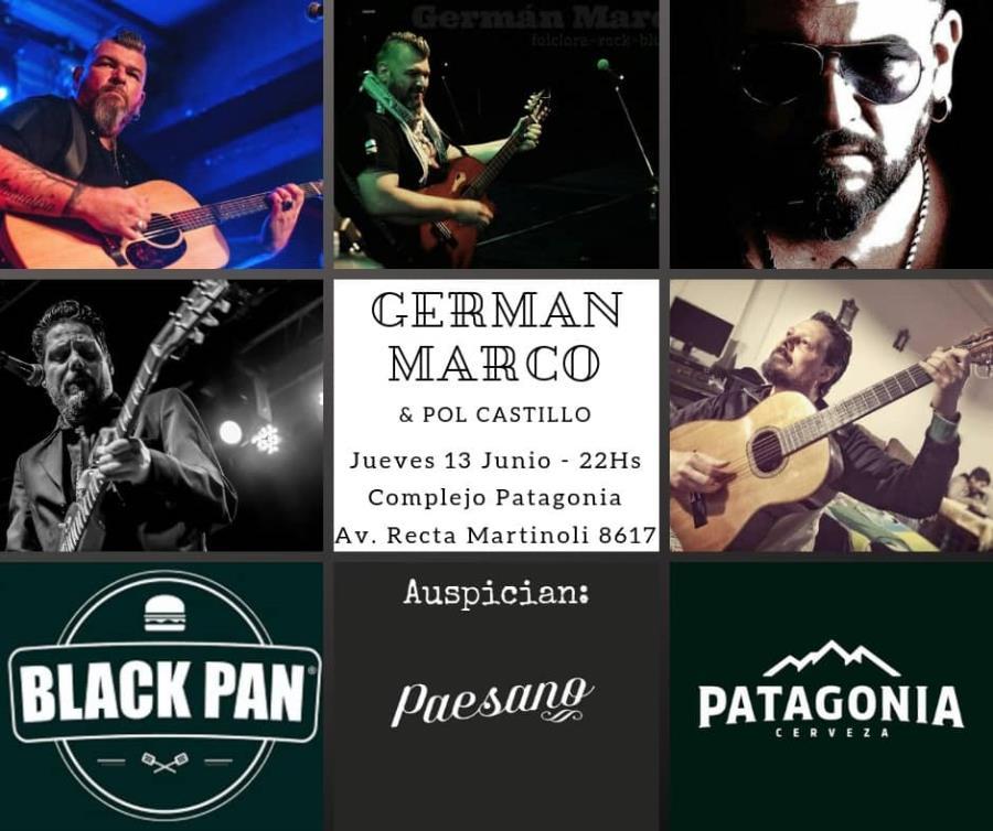 GERMÁN MARCO & POL CASTILLO EN COMPLEJO PATAGONIA