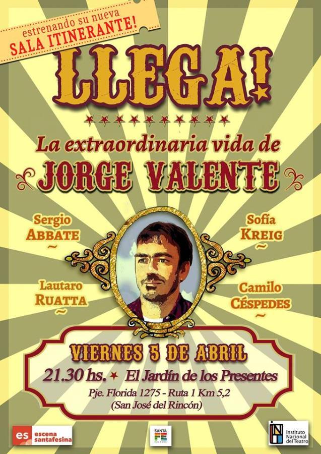 La extraordinaria vida de Jorge Valente