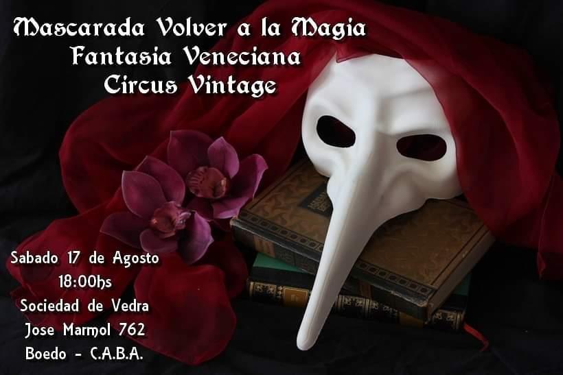 Baile de Mascaras Fantasia Veneciana
