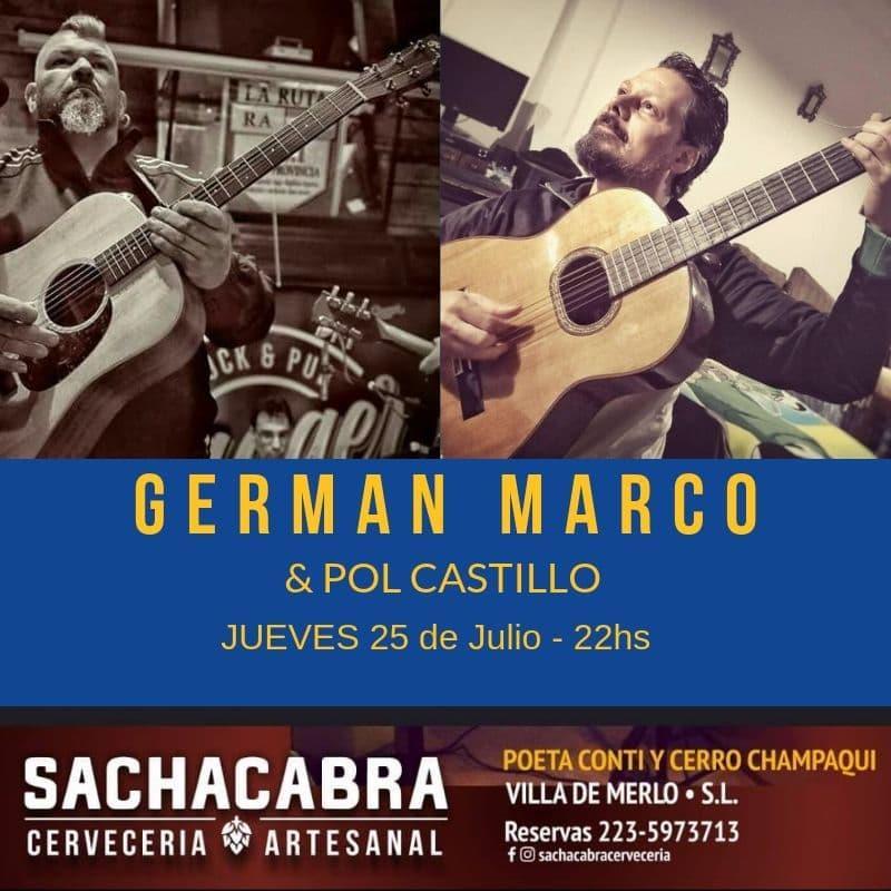 GERMÁN MARCO & POL CASTILLO EN SACHACABRA CERVECERÍA ARTESANAL