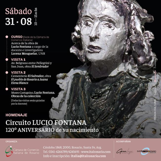 Circuito Lucio Fontana, 120° aniversario de su nacimiento
