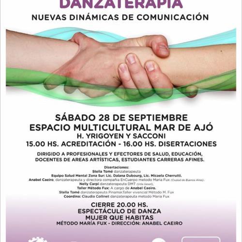 """Encuentro Regional Itinerante Mar de Movimiento """"Construyendo Puentes""""Método María Fux"""