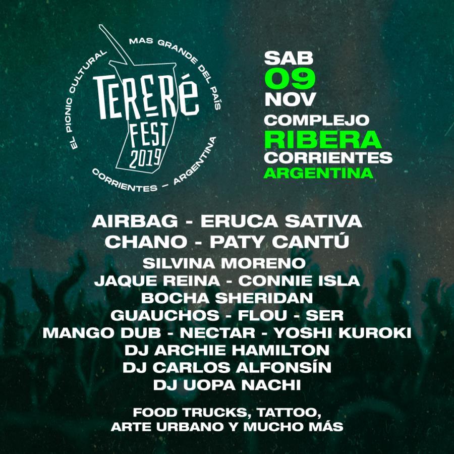 Tereré Fest 2019 en Corrientes