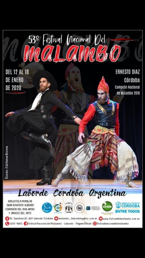53° Festival Nacional del Malambo en Laborde