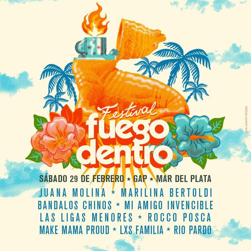 Festival Fuego Dentro MDQ @ Verano 2020